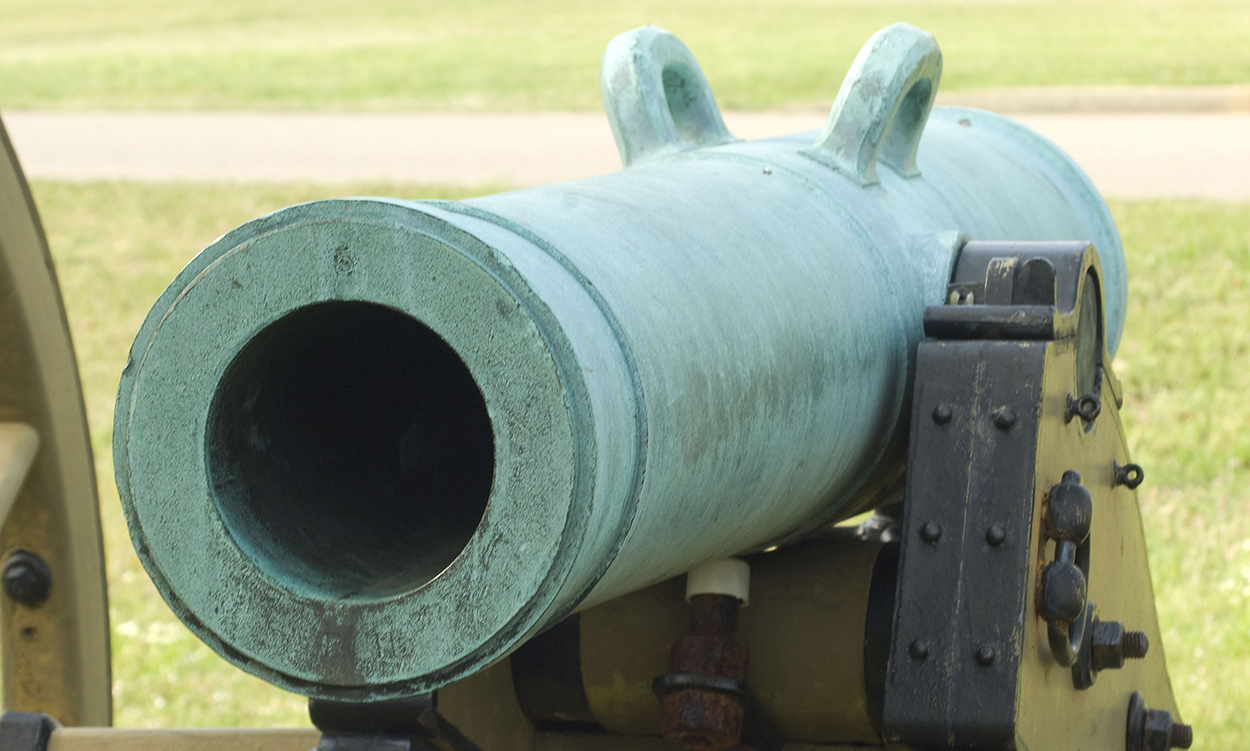 Model 1841 24-pounder field howitzer, Shiloh National Military Park, Tennessee.|Digital photograph