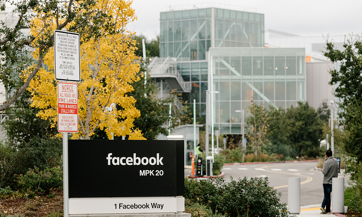 "The Facebook campus in Menlo Park, Calif., Dec. 5, 2019. An effort to pressure Facebook to crack down on hate speech has prompted dozens of advertisers to say they'll stop spending on the platform. Facebook said on Friday, June 26, that ""we know we have more work to do,"" in response to complaints over hate speech on the platform. (Jason Henry/The New York Times)"