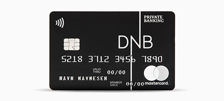 sort private banking mastercard fra dnb