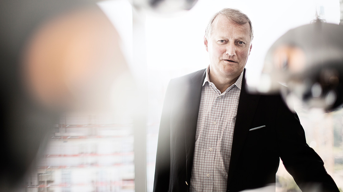 Group chief executive - Rune Bjerke