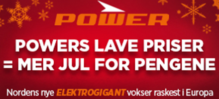 20 % rabatt hos Power