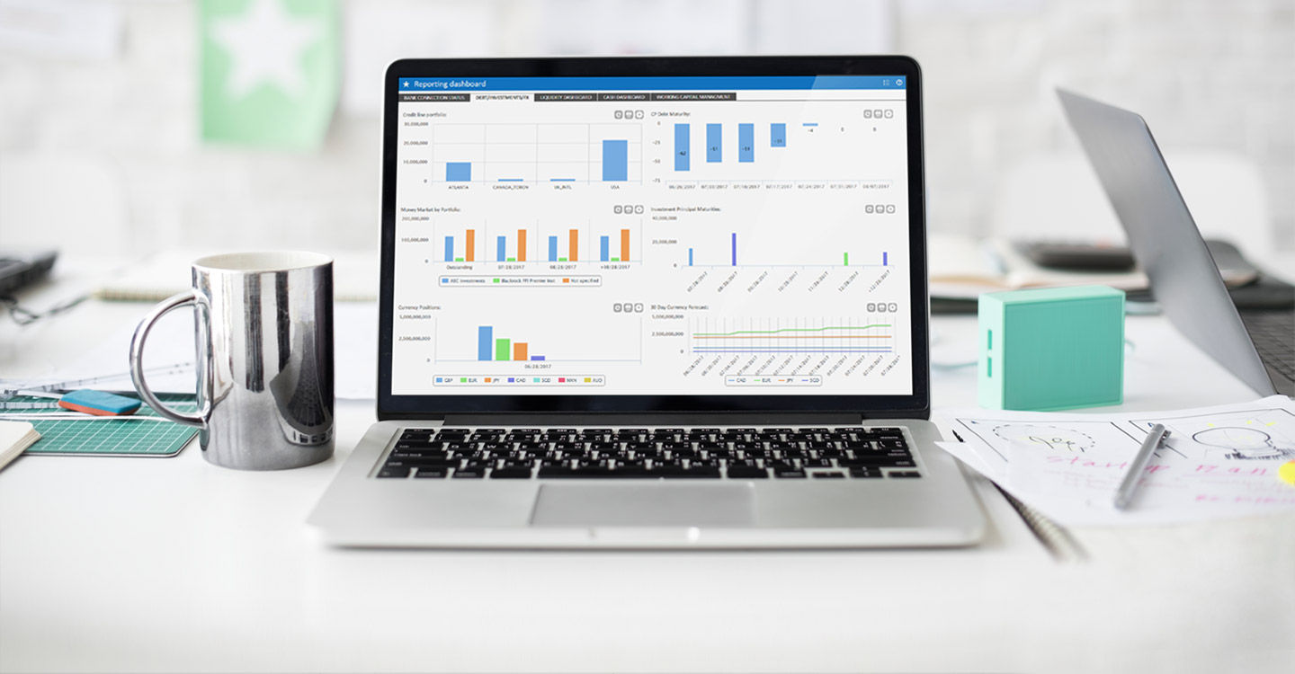 kyriba on screen