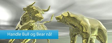4cb1c7ae Våre Bull og Bear-produkter gir deg mulighet til å posisjonere deg på en  god måte både for et stigende og fallende marked.
