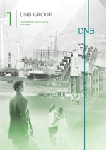 Frontpage DNBs first quarterly report 2013