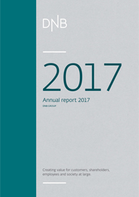 frontpage annual csr report 2017 DNB