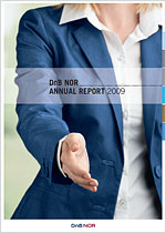 Frontpage annual report 2009