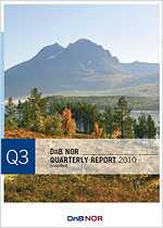 Frontpage 3rd quarter 2010 report