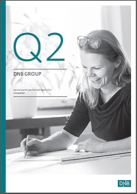 Frontpage 2nd quarter 2015 report DNB