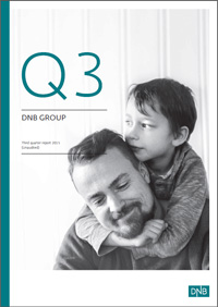 Frontpage of 3rd quarter report 2015