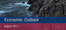 illustration: frontpage for economic outlook 2/2011